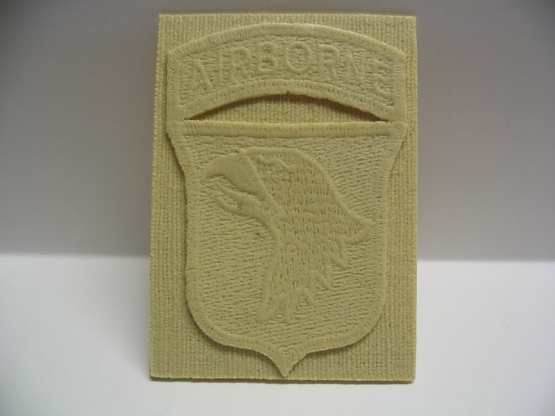 Screaming Eagles Resin Badge