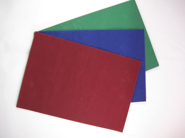Carpeting on Real Cloth - set of 3 solid colors (Dark Red - Green - Dark Blue)