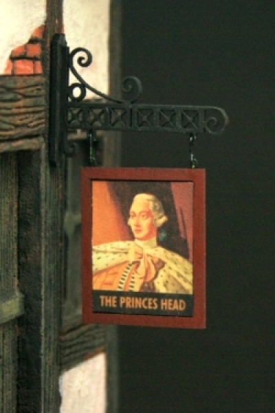 "Pub Sign ""The Princess Head"""