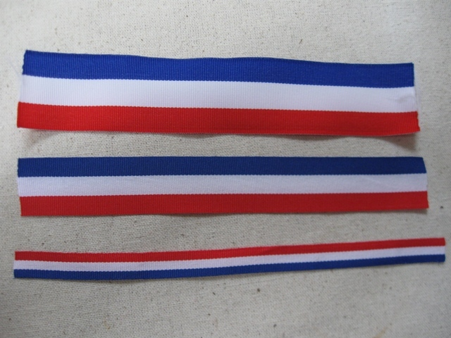 Dutch Flag Ribbon - 3 sizes