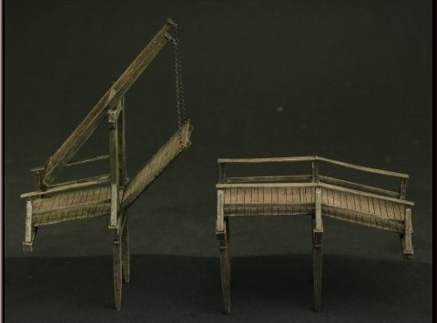 Wooden Draw Bridge