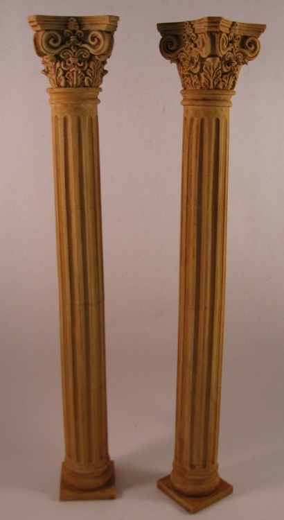 Corinthian Column Set - 2 pcs.
