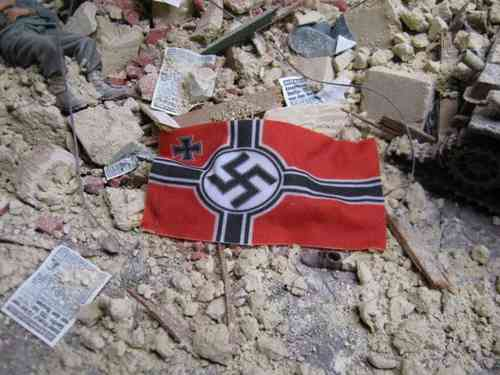 German War Flags WWII on Real Cotton - Set 2 - Reality in Scale