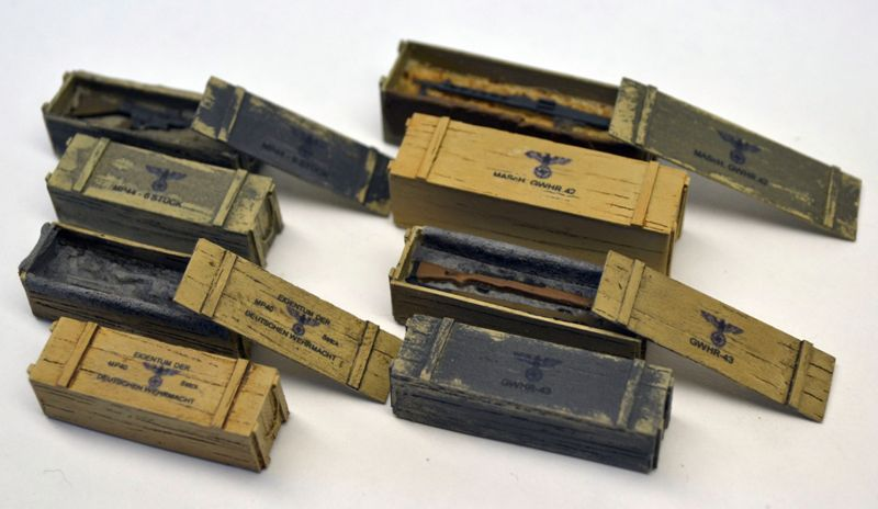 German Weapon Boxes WWII