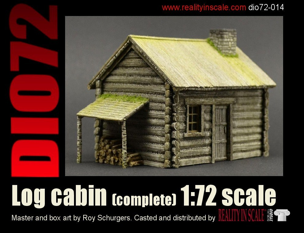 Log Cabin (full building)