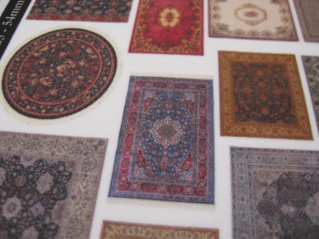 Carpets on Real Cloth